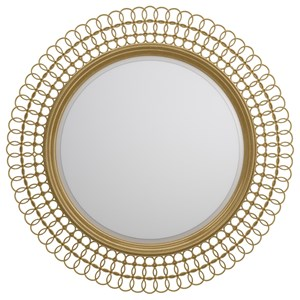 Cynthia Rowley for Hooker Furniture Cynthia Rowley - Curious Bangle Round Mirror