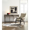 Cynthia Rowley for Hooker Furniture Cynthia Rowley - Curious Upholstery Henry Exposed Wood