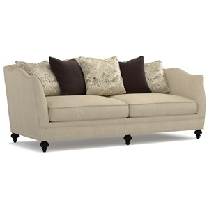 Cynthia Rowley for Hooker Furniture Cynthia Rowley - Curious Upholstery Muriel 2 Cushion Sofa