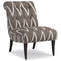 Cynthia Rowley for Hooker Furniture Cynthia Rowley - Pretty Upholstery Perry Chair - Item Number: 1102CR
