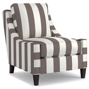 Cynthia Rowley for Hooker Furniture Cynthia Rowley - Pretty Upholstery Delancey Club Chair