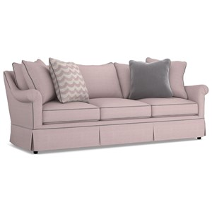 Cynthia Rowley for Hooker Furniture Cynthia Rowley - Pretty Upholstery Thompson 3 over 3 Sofa