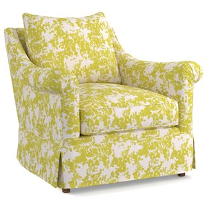 Cynthia Rowley for Hooker Furniture Cynthia Rowley - Pretty Upholstery Thompson Chair