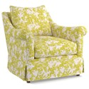 Cynthia Rowley for Hooker Furniture Cynthia Rowley - Pretty Upholstery Thompson Chair - Item Number: 7071-005CR