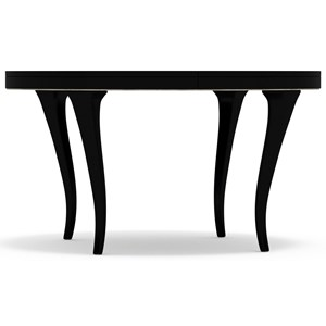 Cynthia Rowley for Hooker Furniture Cynthia Rowley - Pretty Bloom Round Dining Table with 20-inch leaf