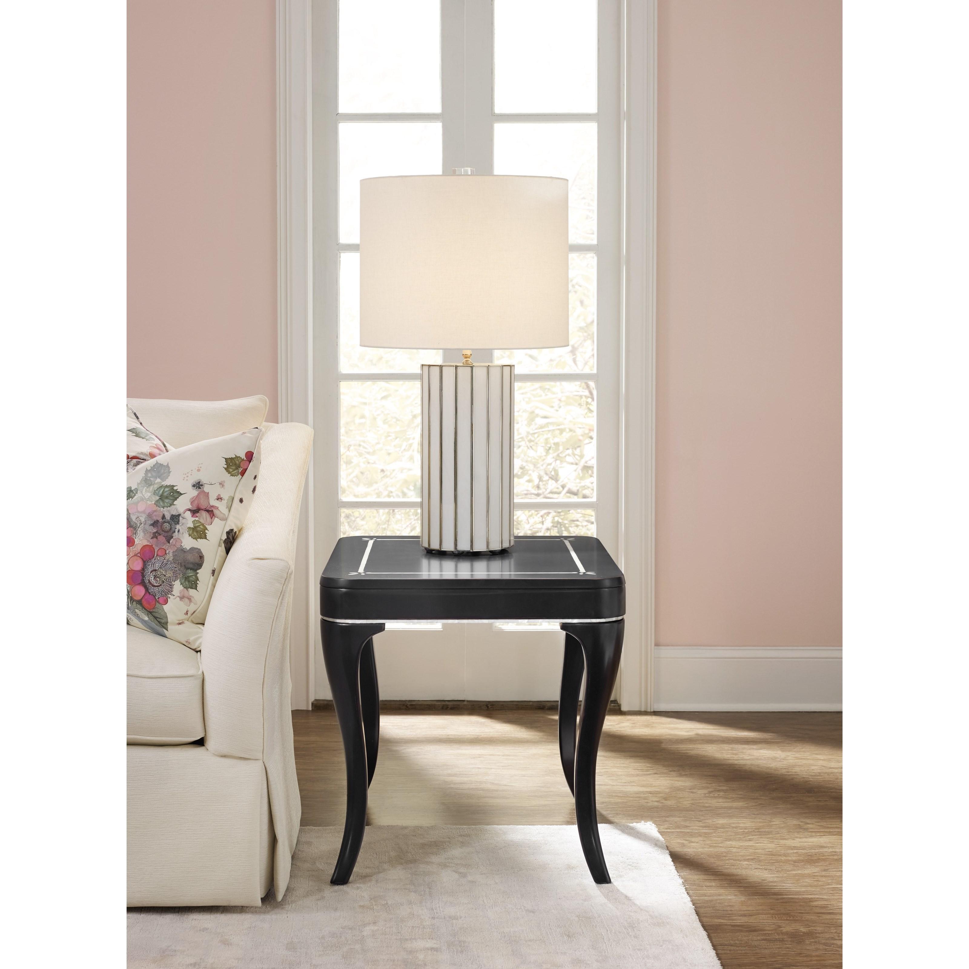 Cynthia Rowley For Hooker Furniture Cynthia Rowley Pretty Flirt End Table Belfort Furniture
