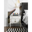 Cynthia Rowley for Hooker Furniture Cynthia Rowley - Pretty Mystique One-Drawer Two Door-Nightstand