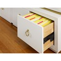 Cynthia Rowley for Hooker Furniture Cynthia Rowley - Sporty Swan Room Divider w/ File Storage