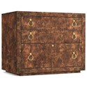 Cynthia Rowley for Hooker Furniture Cynthia Rowley - Sporty Epic Utility Credenza - Item Number: 1586-10466A-BRN