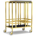 Cynthia Rowley for Hooker Furniture Cynthia Rowley - Sporty When in Rome Accent Bar Cart