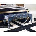 Cynthia Rowley for Hooker Furniture Cynthia Rowley - Sporty Upholstery Lulu Bench