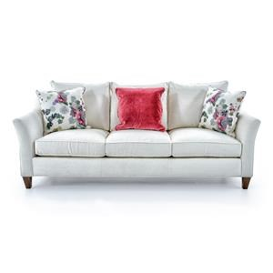 Cynthia Rowley for Hooker Furniture Cynthia Rowley - Sporty Upholstery Mercer 3 over 3 Sofa