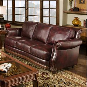 D'Oro Cartwright Traditional Sofa