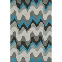 "Dalyn Aloft Silver 3'6""X5'6"" Rug - Item Number: AL11SI4X6"