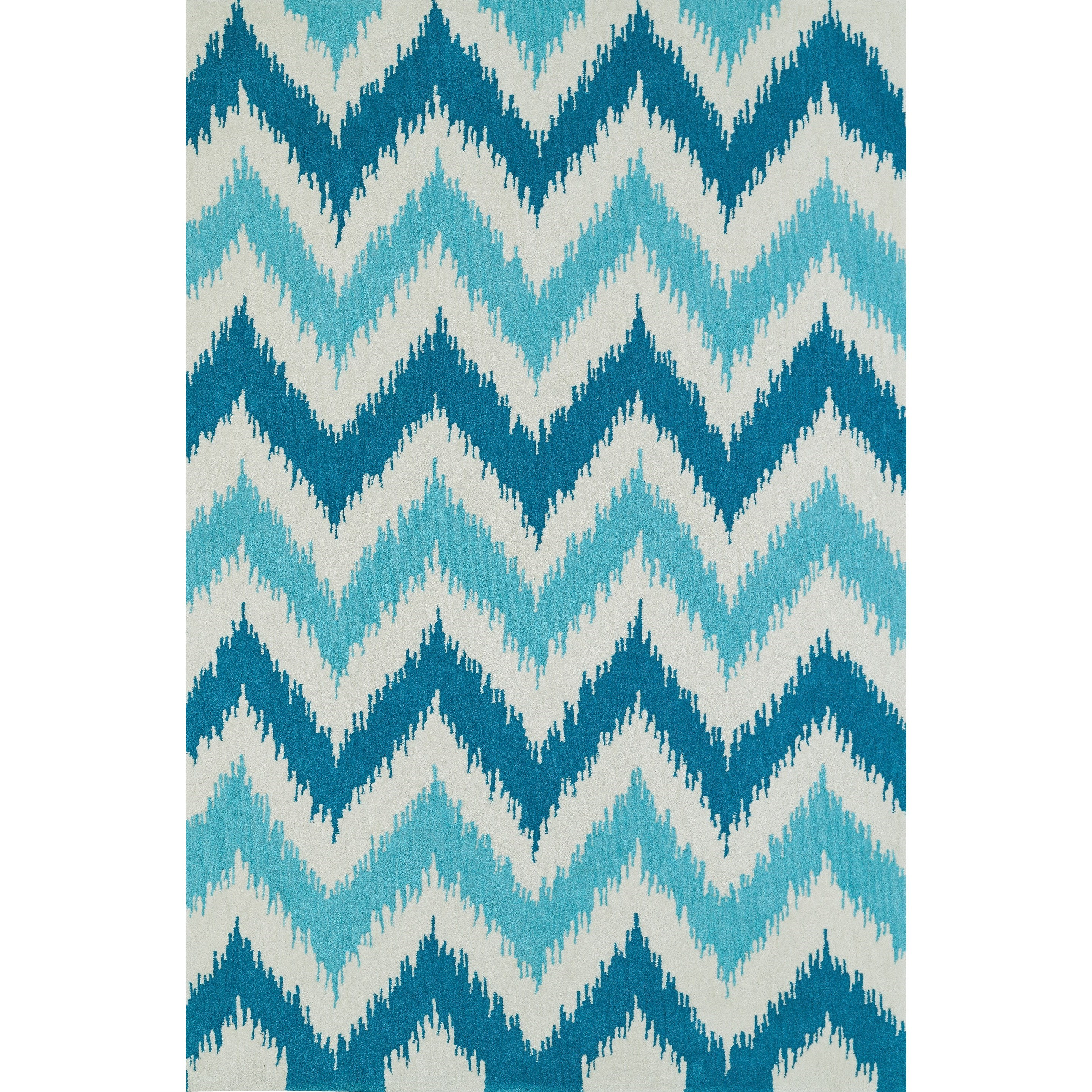 "Dalyn Aloft Aqua 3'6""X5'6"" Rug - Item Number: AL13AQ4X6"