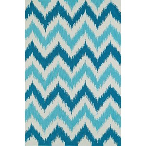 "Dalyn Aloft Aqua 5'X7'6"" Rug"