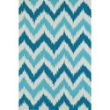 Dalyn Aloft Aqua 9'X13' Rug - Item Number: AL13AQ9X13