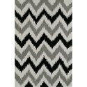 "Dalyn Aloft Silver 3'6""X5'6"" Rug - Item Number: AL13SI4X6"