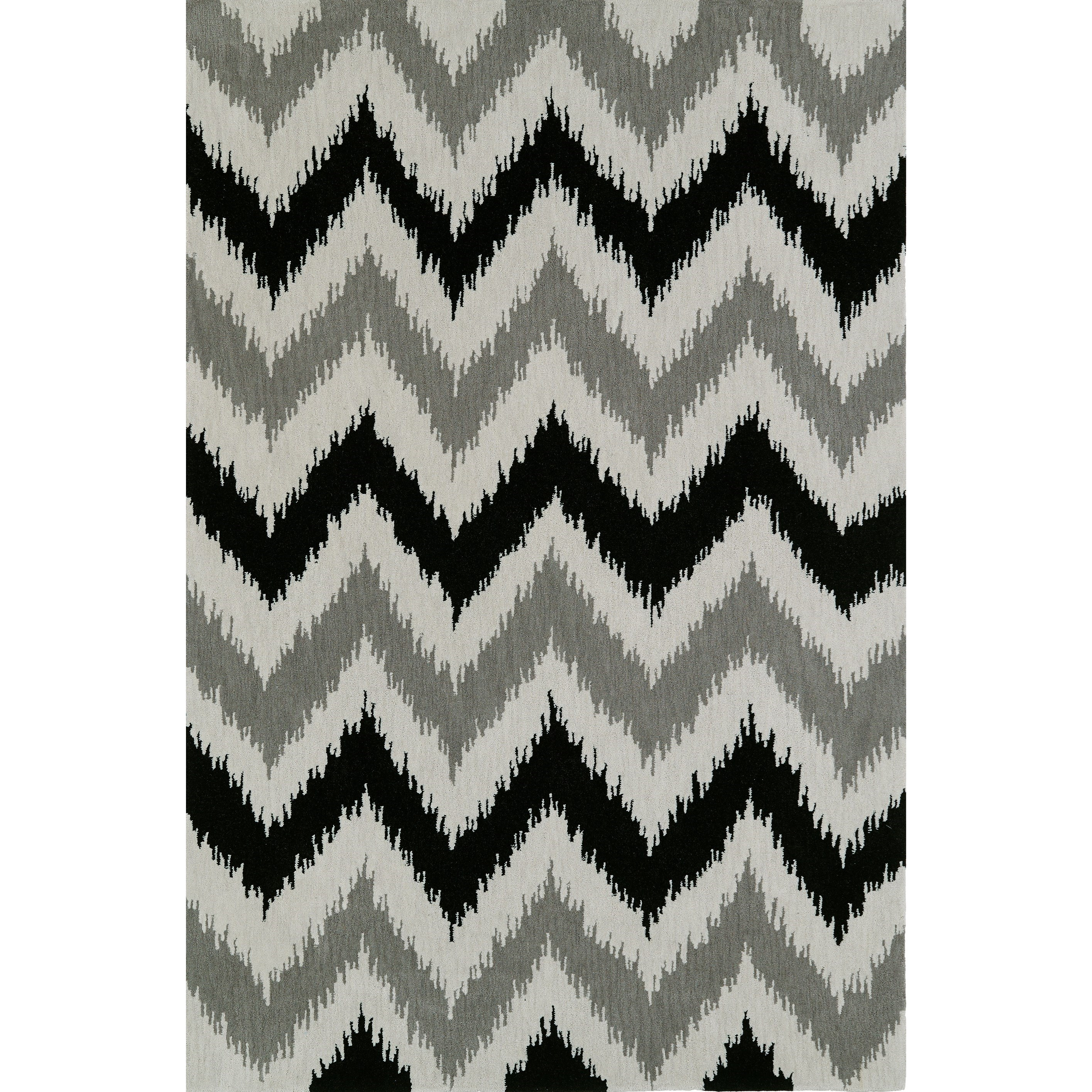 Dalyn Aloft Silver 9'X13' Rug - Item Number: AL13SI9X13