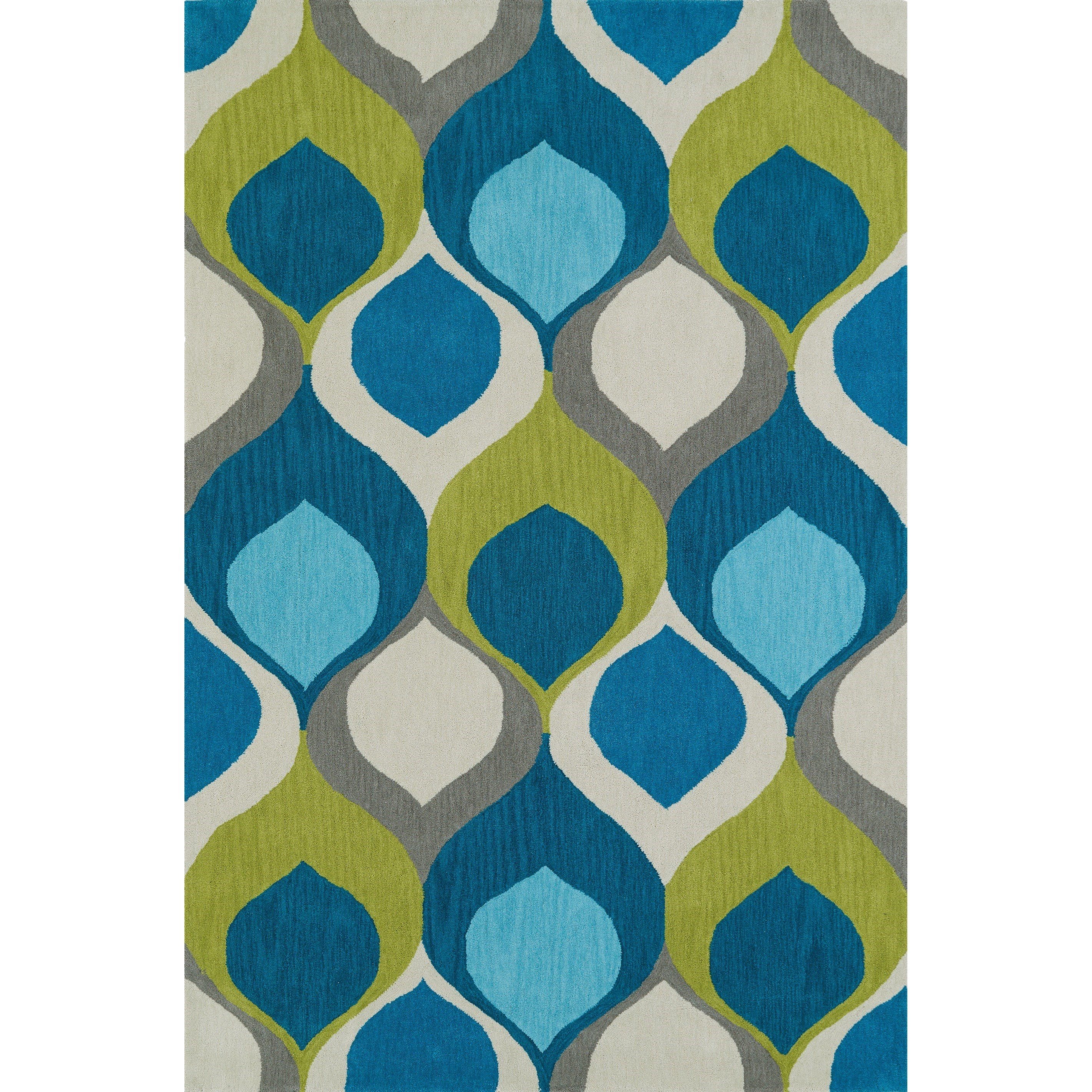 "Dalyn Aloft Teal 3'6""X5'6"" Rug - Item Number: AL14TE4X6"