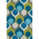 Dalyn Aloft Teal 9'X13' Rug - Item Number: AL14TE9X13