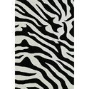 "Dalyn Aloft Black 5'X7'6"" Rug - Item Number: AL15BK5X8"