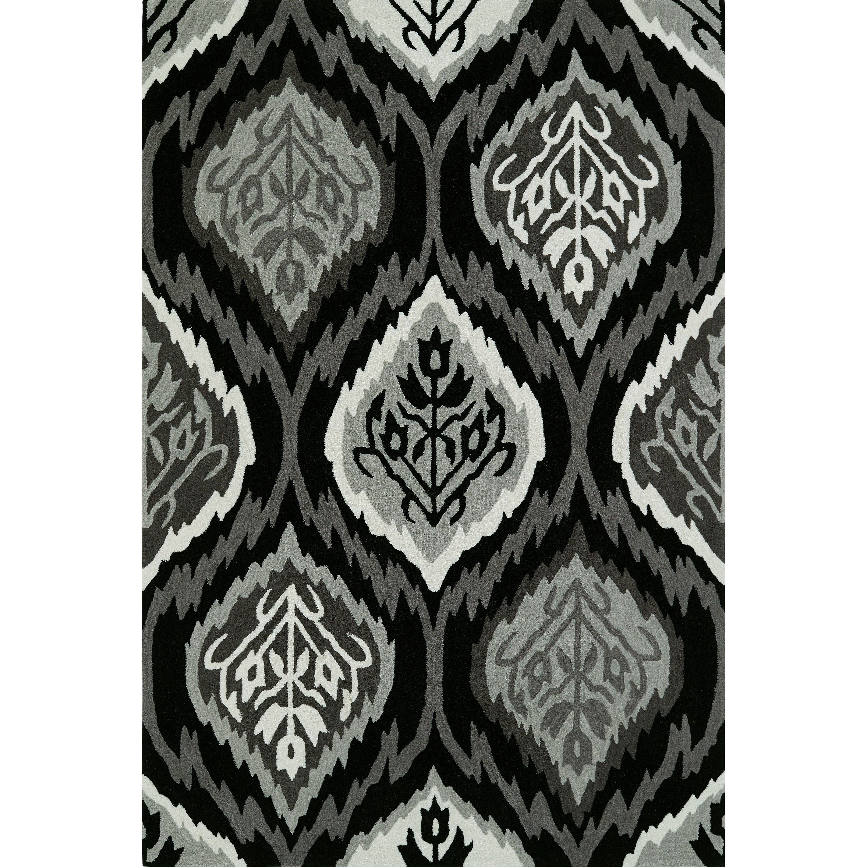 "Dalyn Aloft Black 3'6""X5'6"" Rug - Item Number: AL2BK4X6"
