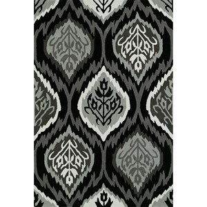 "Dalyn Aloft Black 3'6""X5'6"" Rug"