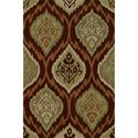 Dalyn Aloft Paprika 8'X10' Rug - Item Number: AL2PA8X10