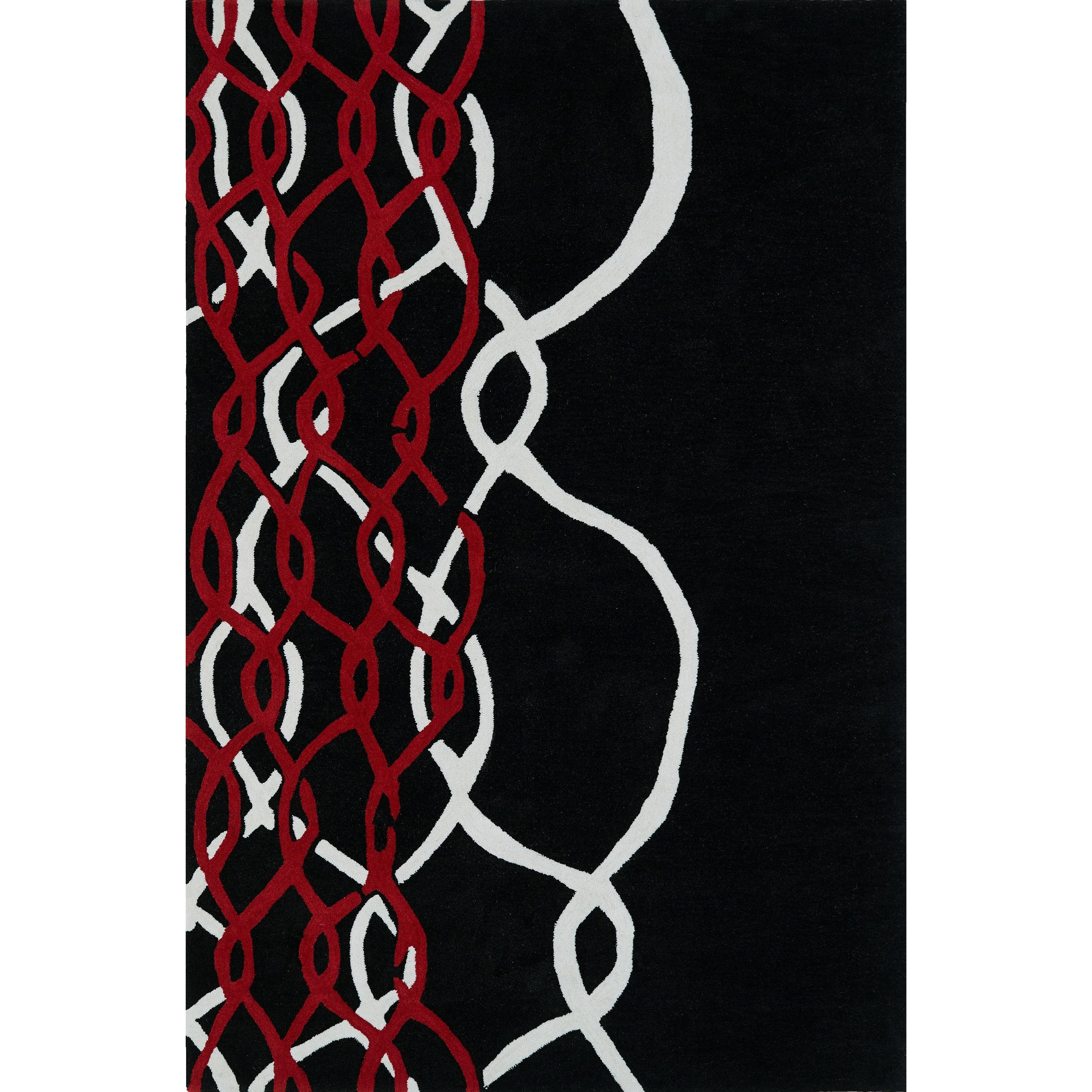"Dalyn Aloft Black 3'6""X5'6"" Rug - Item Number: AL3BK4X6"