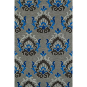 Dalyn Aloft Silver 8'X10' Rug