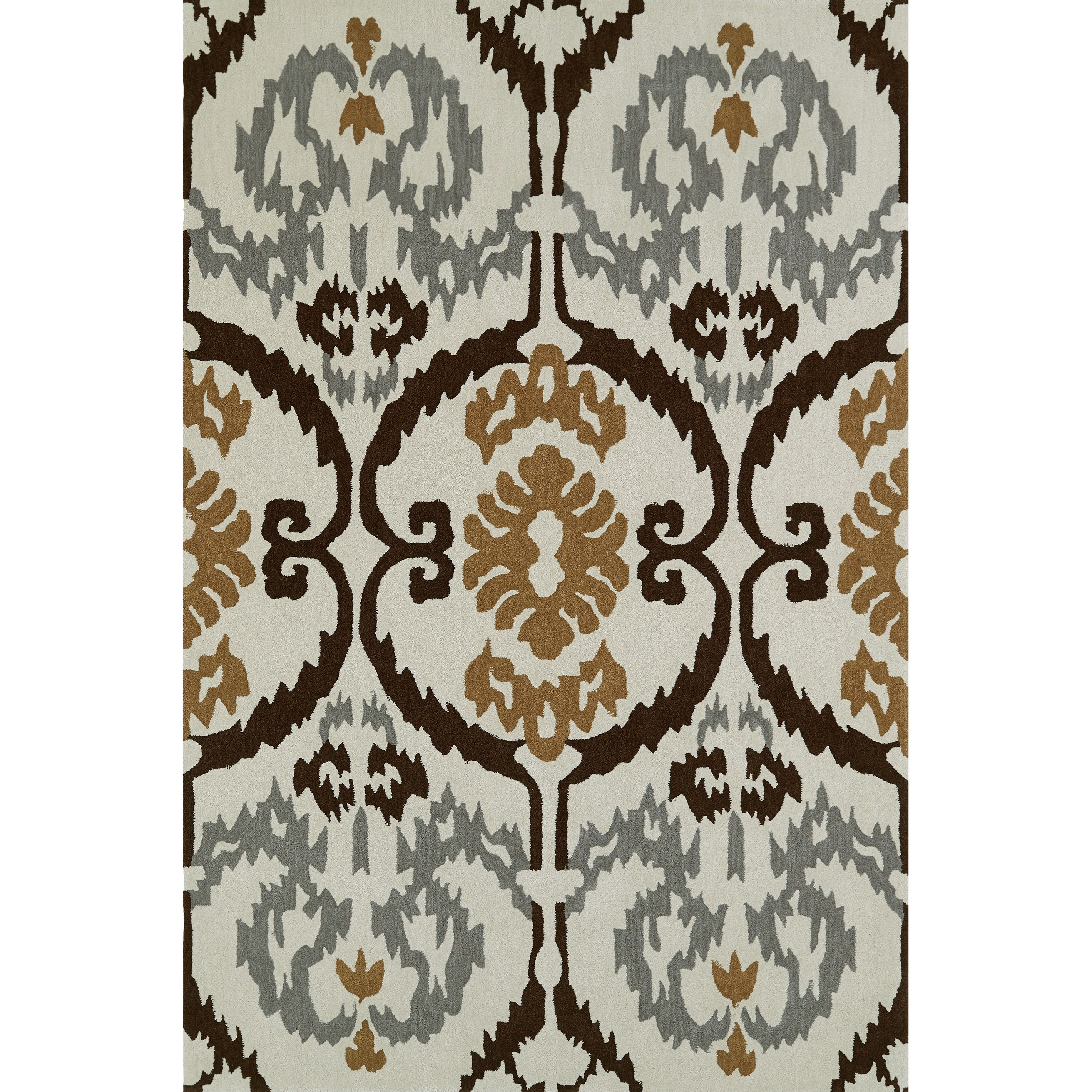 "Dalyn Aloft Ivory 3'6""X5'6"" Rug - Item Number: AL6IV4X6"