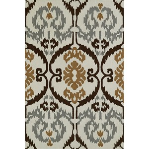 "Dalyn Aloft Ivory 5'X7'6"" Rug"