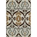 Dalyn Aloft Ivory 8'X10' Rug - Item Number: AL6IV8X10