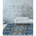 Dalyn Aloft Nickel 8'X10' Rug