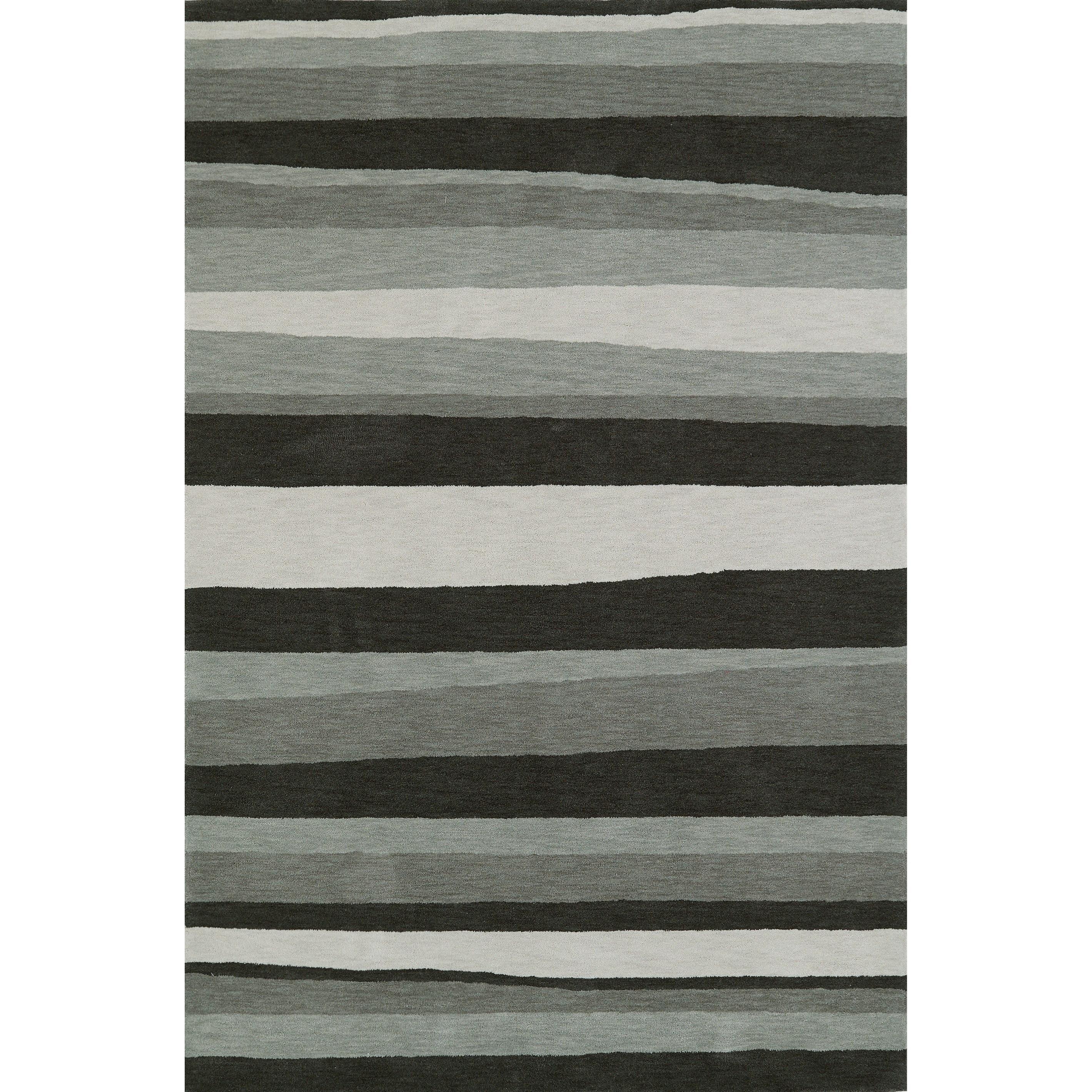 Dalyn Aloft Charcoal 9'X13' Rug - Item Number: AL8CH9X13