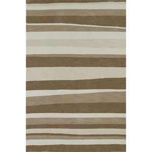 "Taupe 3'6""X5'6"" Rug"