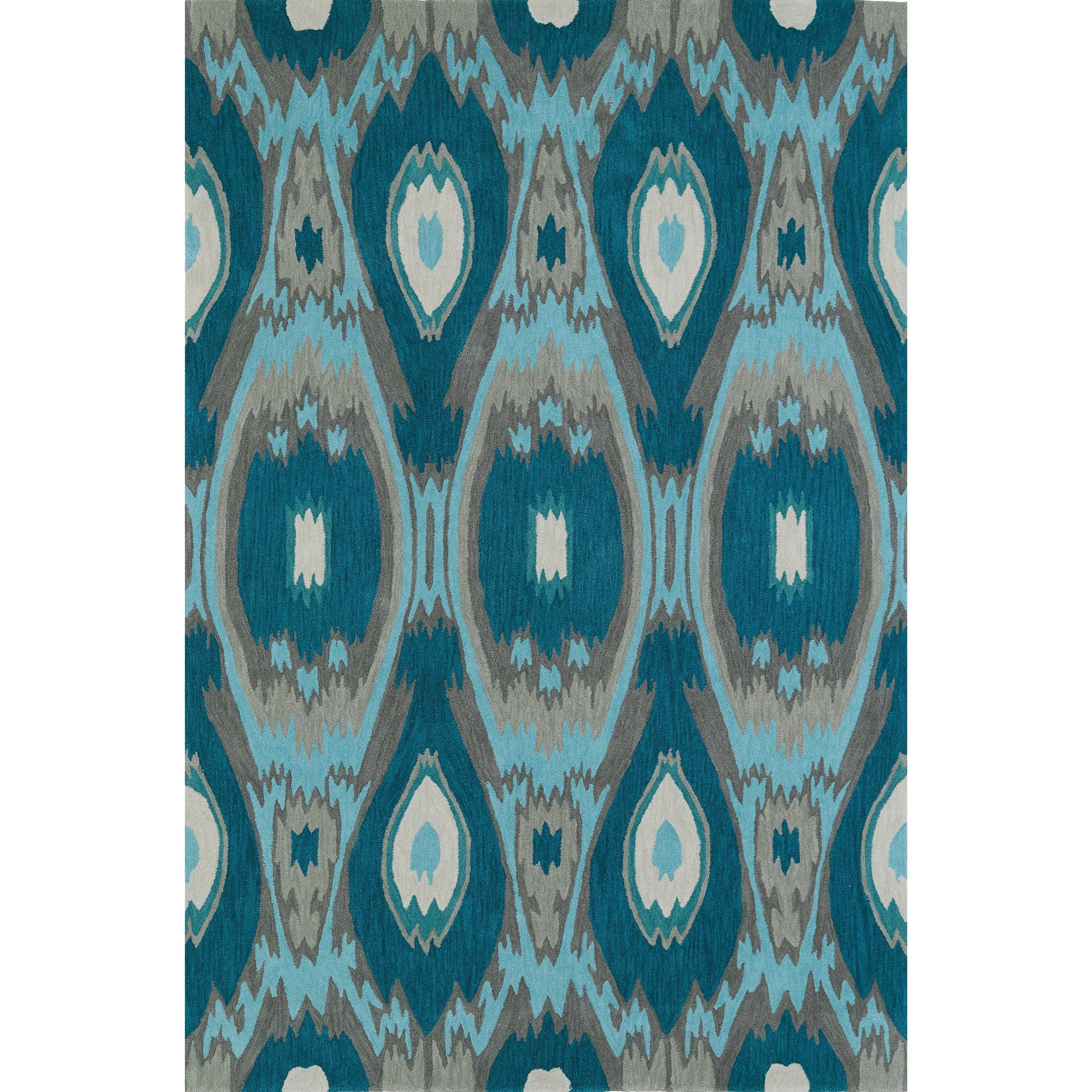 "Dalyn Aloft Teal 5'X7'6"" Rug - Item Number: AL9TE5X8"