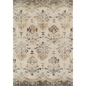 "Dalyn Antigua Chocolate 5'3""X7'7"" Area Rug - Item Number: AN11CH5X8"