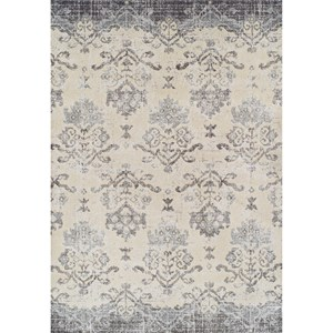"""Pewter 3'3""""X5'3"""" Area Rug"""