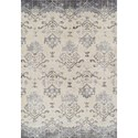 """Dalyn Antigua Pewter 3'3""""X5'3"""" Area Rug - Item Number: AN11PE3X5"""