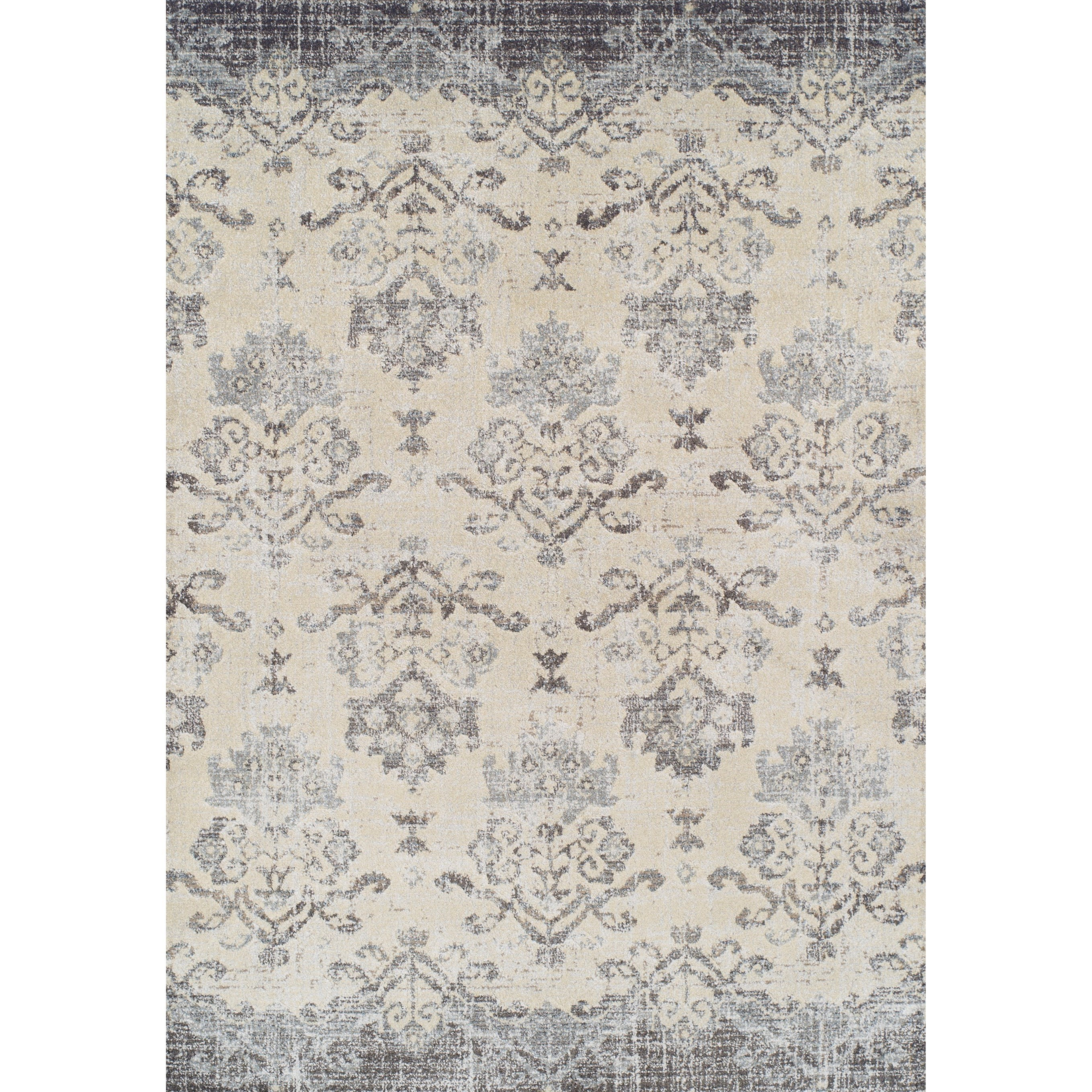 """Pewter 5'3""""X7'7"""" Area Rug"""