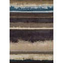 "Dalyn Antigua Chocolate 5'3""X7'7"" Area Rug - Item Number: AN2CH5X8"