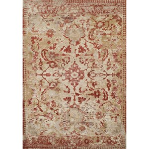 "Dalyn Antigua Paprika 5'3""X7'7"" Area Rug"