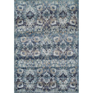 "Dalyn Antigua Navy 5'3""X7'7"" Area Rug"