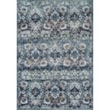 "Dalyn Antigua Navy 5'3""X7'7"" Area Rug - Item Number: AN5NA5X8"