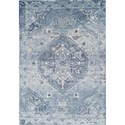 "Dalyn Antigua Sky 5'3""X7'7"" Area Rug - Item Number: AN7SK5X8"