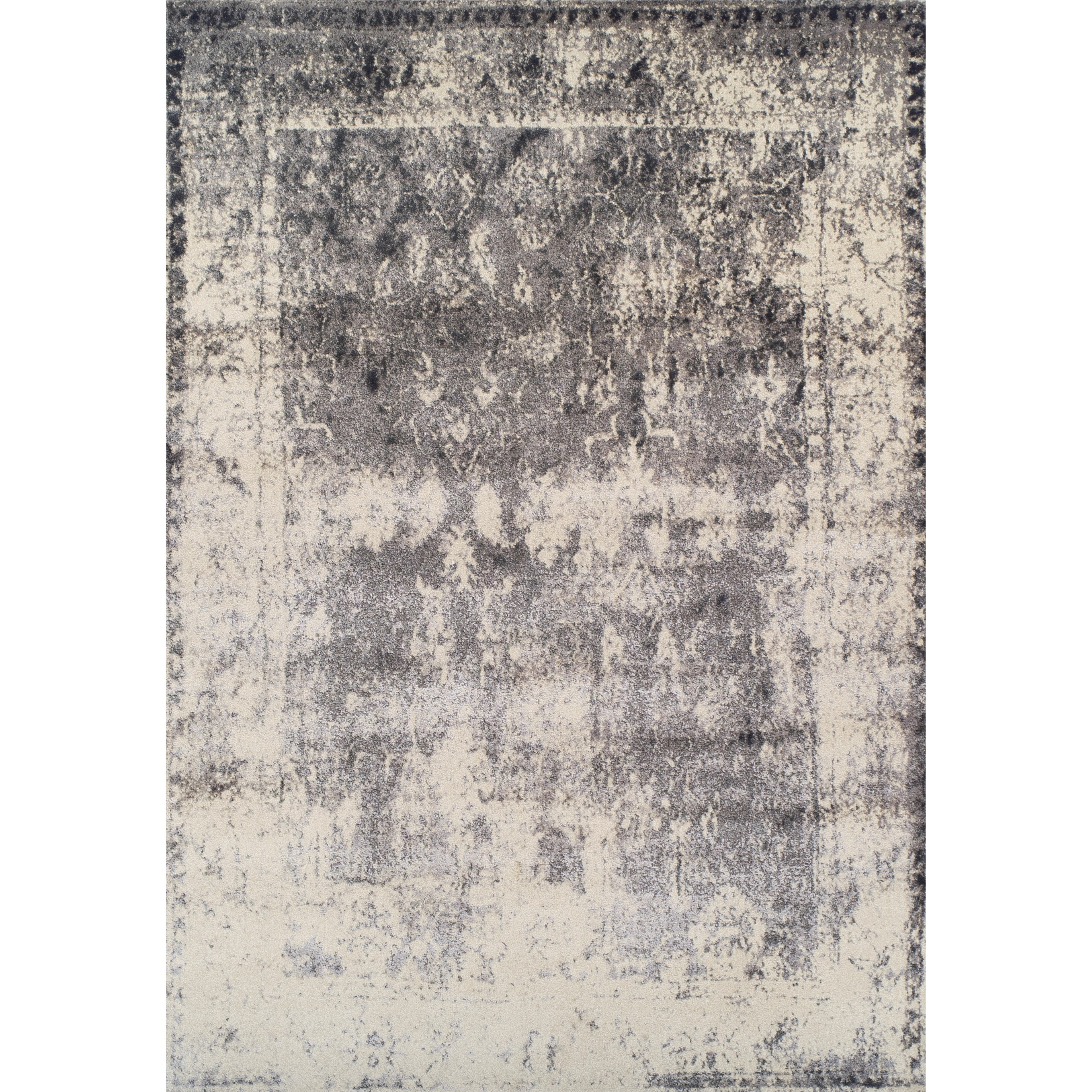 "Dalyn Antiquity Grey 3'3""X5'1"" Rug - Item Number: AQ1330GR3X5"