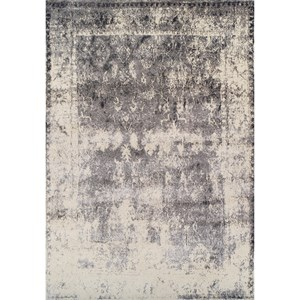 "Dalyn Antiquity Grey 5'3""X7'7"" Rug"