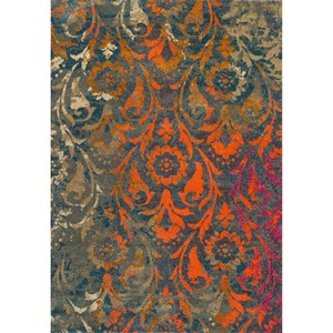 "Dalyn Antiquity Teal 7'10""X10'7"" Rug"
